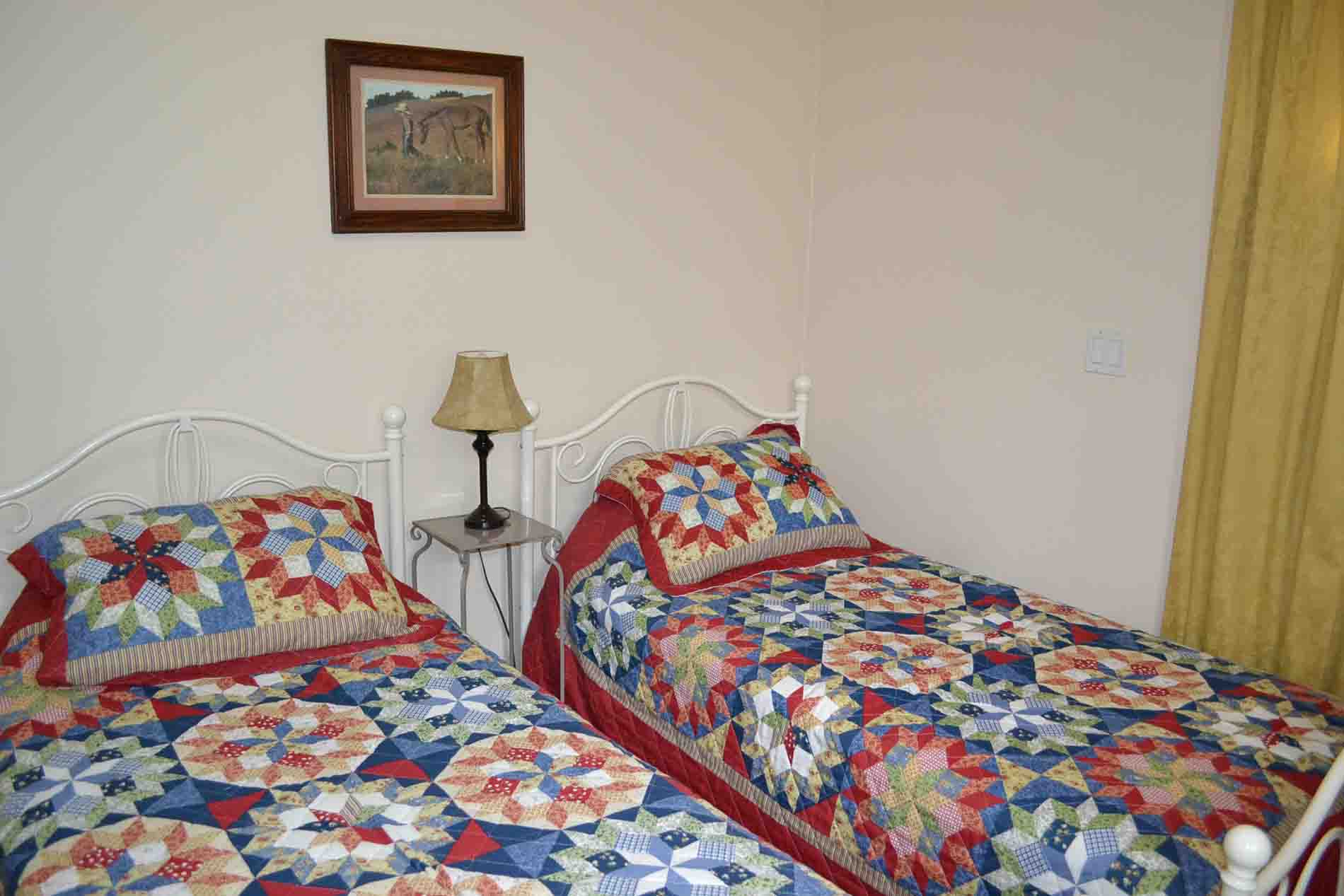 Twin Beds Family Vacation Rental Peachland