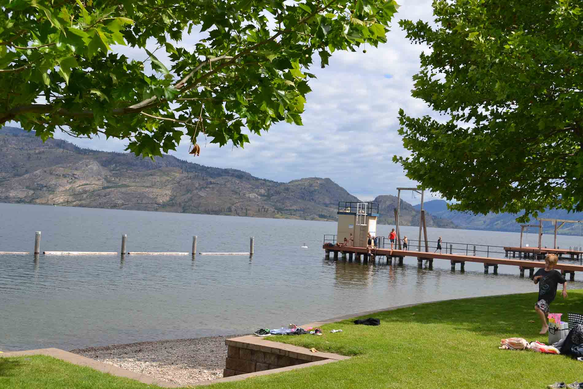 Swim Bay on Okanagan Lake in Peachland
